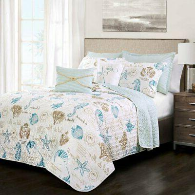 harbor life 7 piece quilt set by