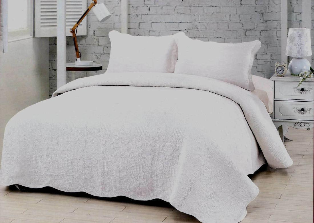 harmonious mist white quilt set queen king