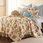 Levtex Home Ansley Reversible Quilt Set in Cream/Red