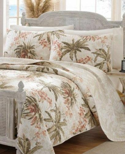 home bonny cove king quilt and two
