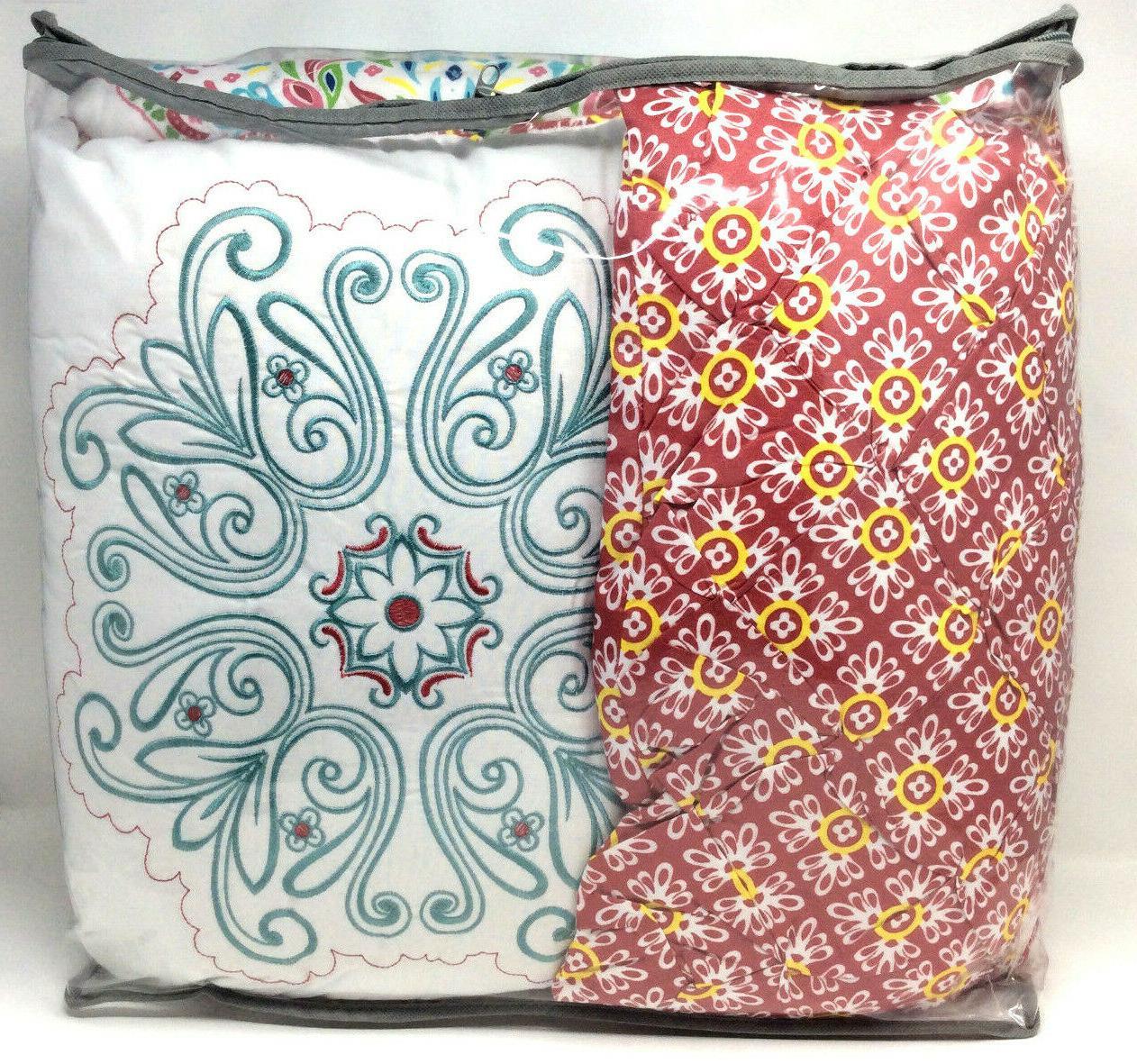 VCNY Piece Boho Quilt Bedding Set