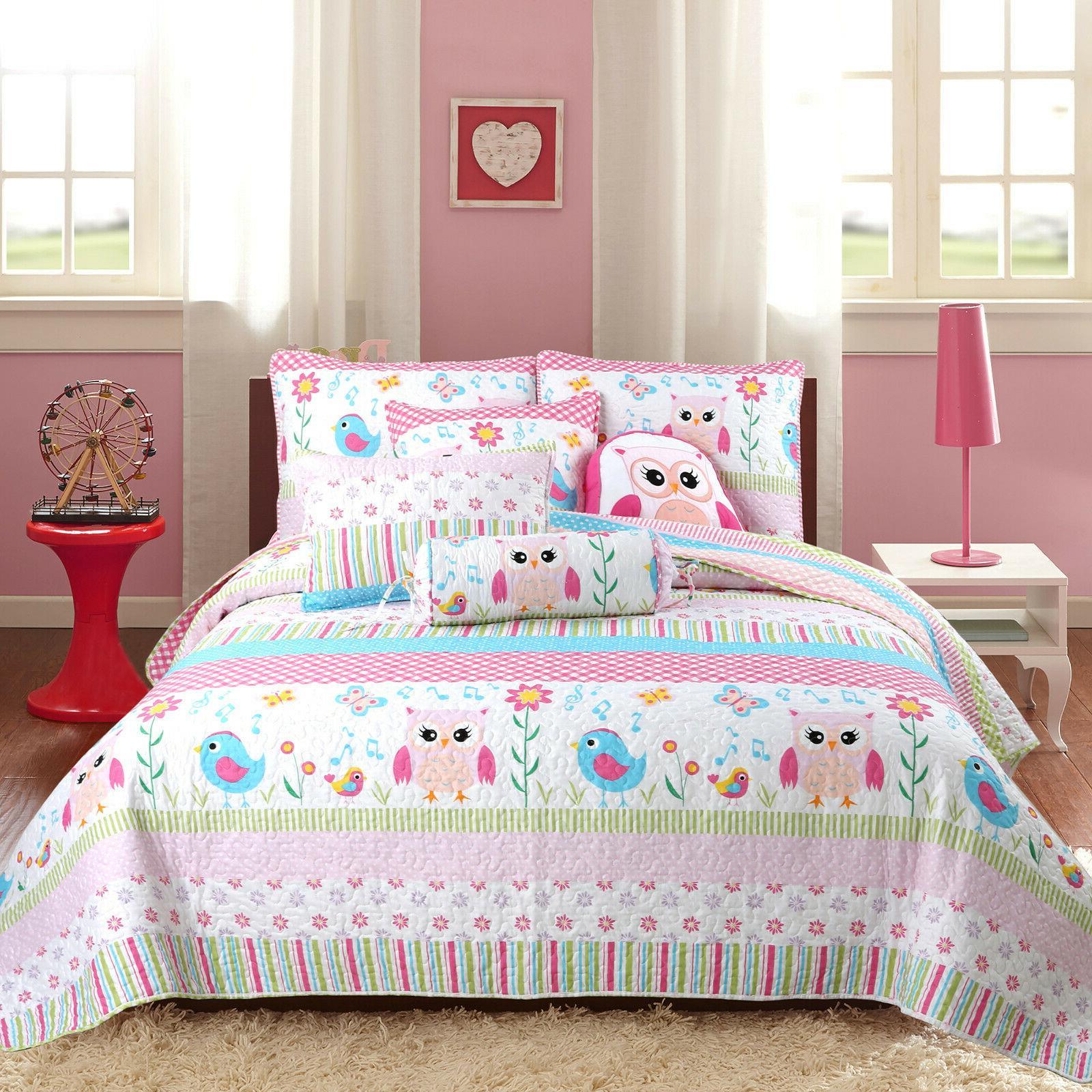 Home Print Girl Bedspread,