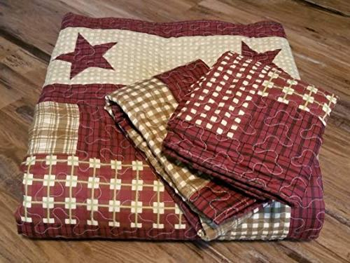 Virah Patchwork 3pc King Size + Metal