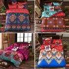 Indian Mandala Duvet Cover Boho Queen Quilt Comfort Bohemian