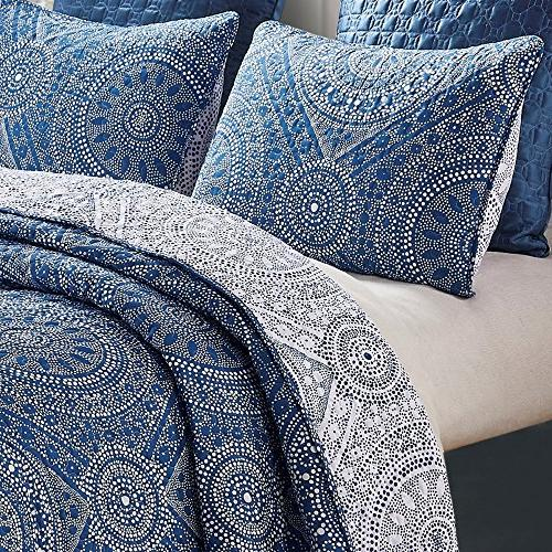 Jakarta Reversible Quilt Boho 2-Piece Set with and Sham Twin,