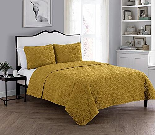 VCNY Polyester 3 Set, Resistant, Bed Set,