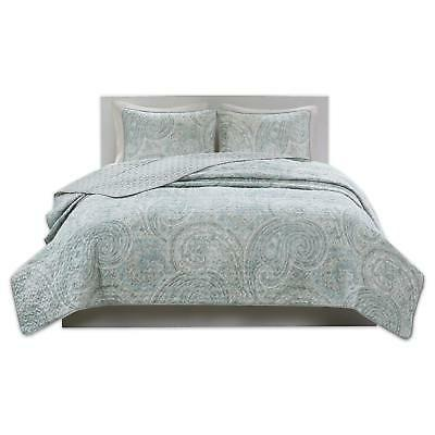 kashmir mini quilt set 3 piece paisley