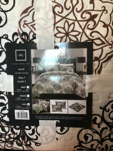 kelsie boho inspired quilt set with shams