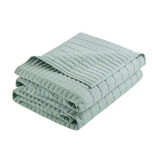 Comfort Spaces Quilt 3 - Seafoam - Quilt - Includes 1