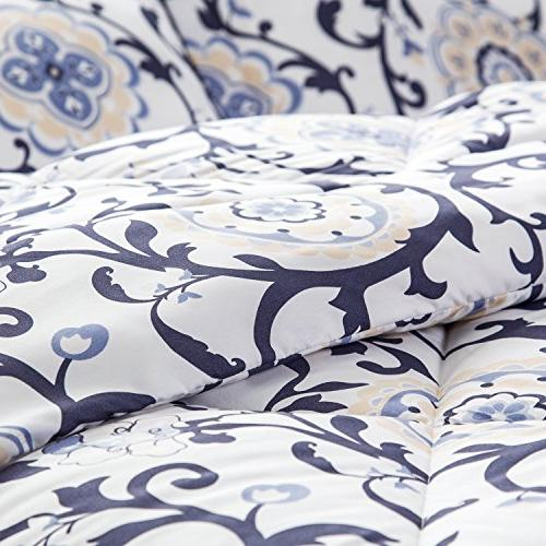King Classics Traditional Roll Design Down Comforter 3 by Bedsure