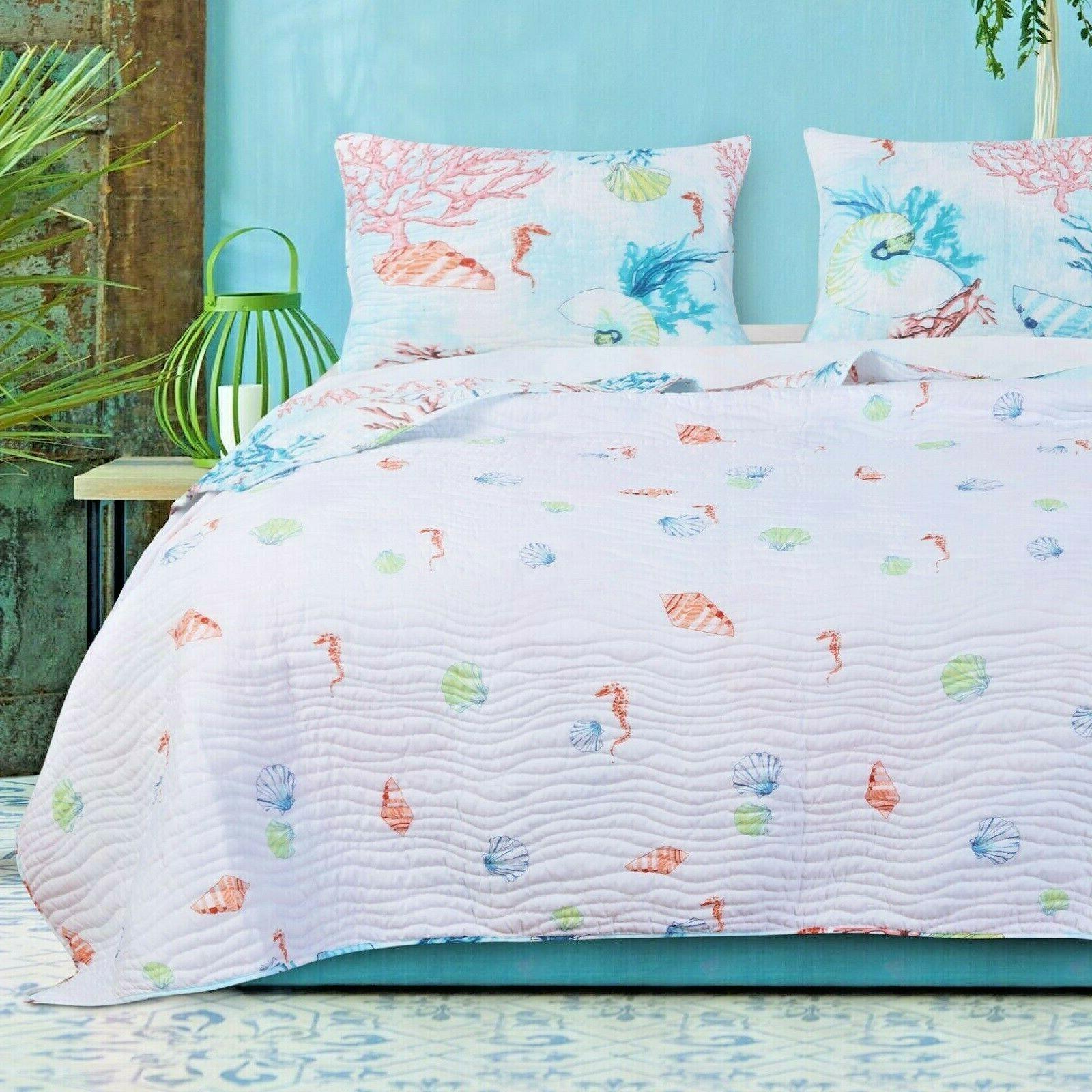 Quilt Set Queen Bedding Multi