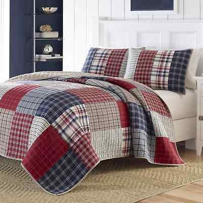 Nautica King Size Reversible Down Full Comforter Bedding Set