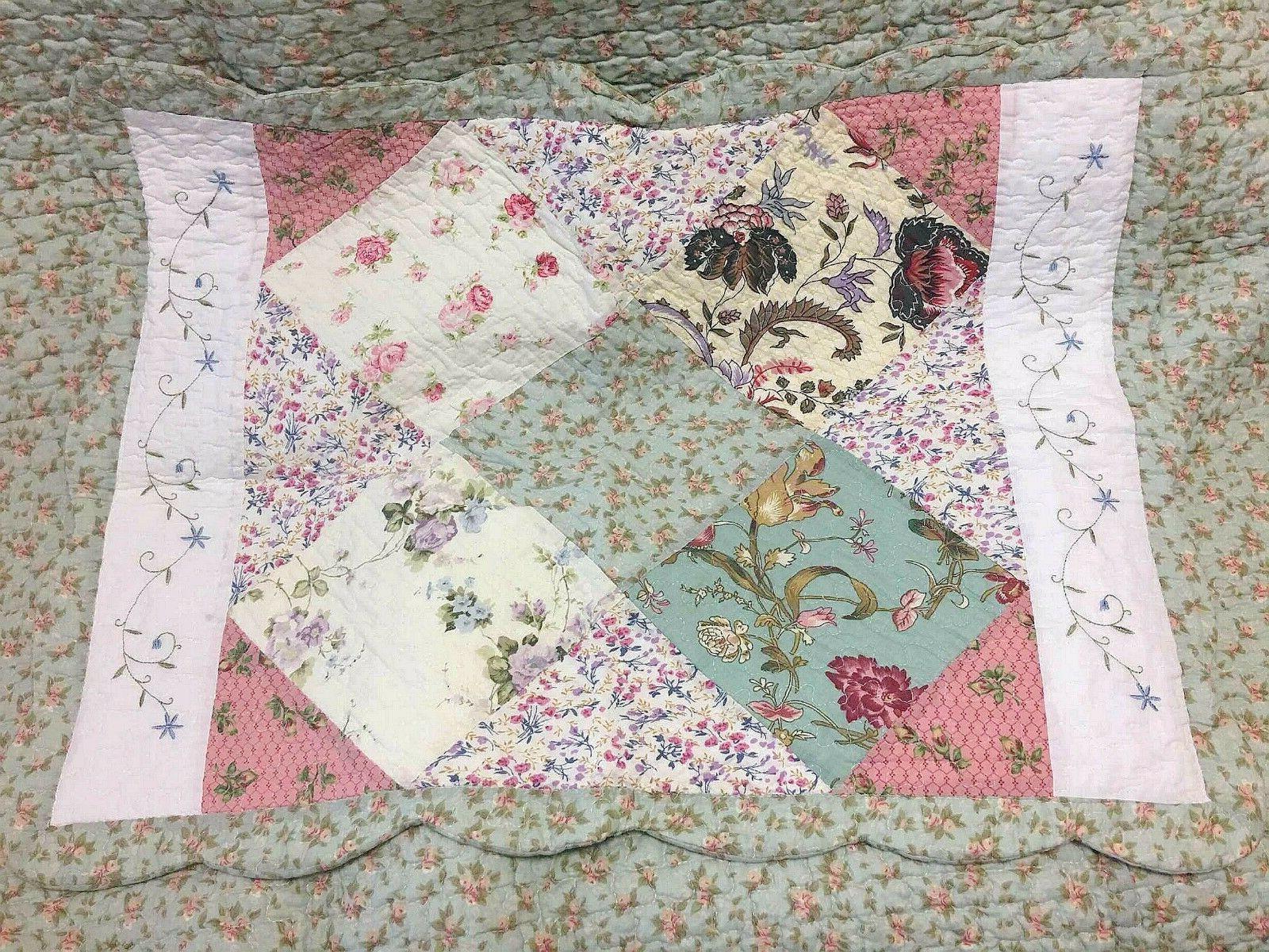 Reversible 100%Cotton Bedspread Coverlet