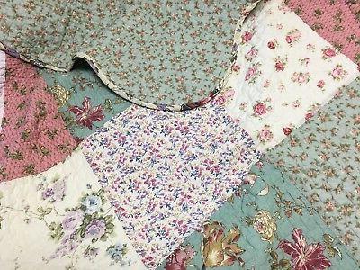 Laura Real Reversible Bedspread Coverlet