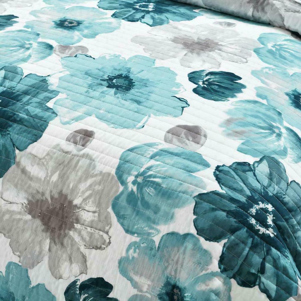 Lush Decor - Floral 3 Bedding Set - King