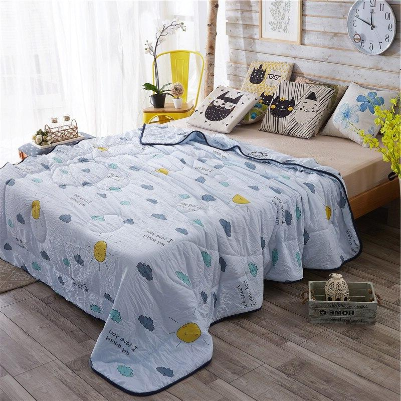 Lightweight Soft <font><b>Quilt</b></font> Twin/Full/Queen Size Bed cover Bedspread Coverlet for All Season