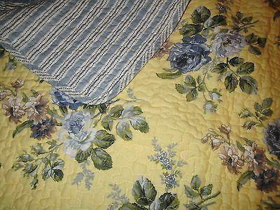 LAURA Linley BLUE ROSE Twin 2pc CHIC