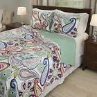 Bedford Home Lizzie 3 Piece Quilt Set - Full/Queen