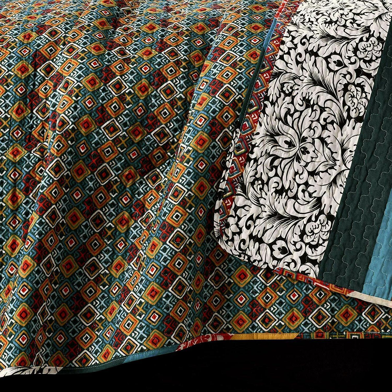 Lush Quilt Bohemian Design Bedding -