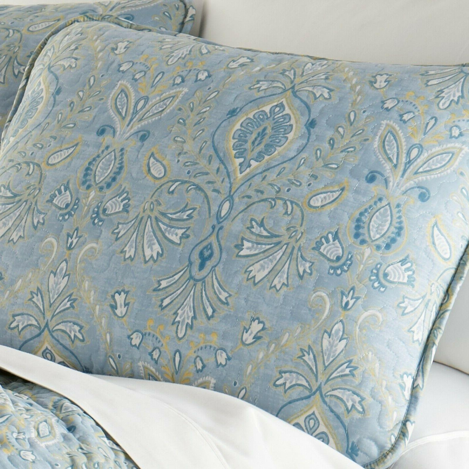 Luxurious and Comfortable Paisley Grace Quilt Set