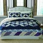 Keeco Luxury 100% Cotton Veronica Patchwork Quilt Set Full/Q
