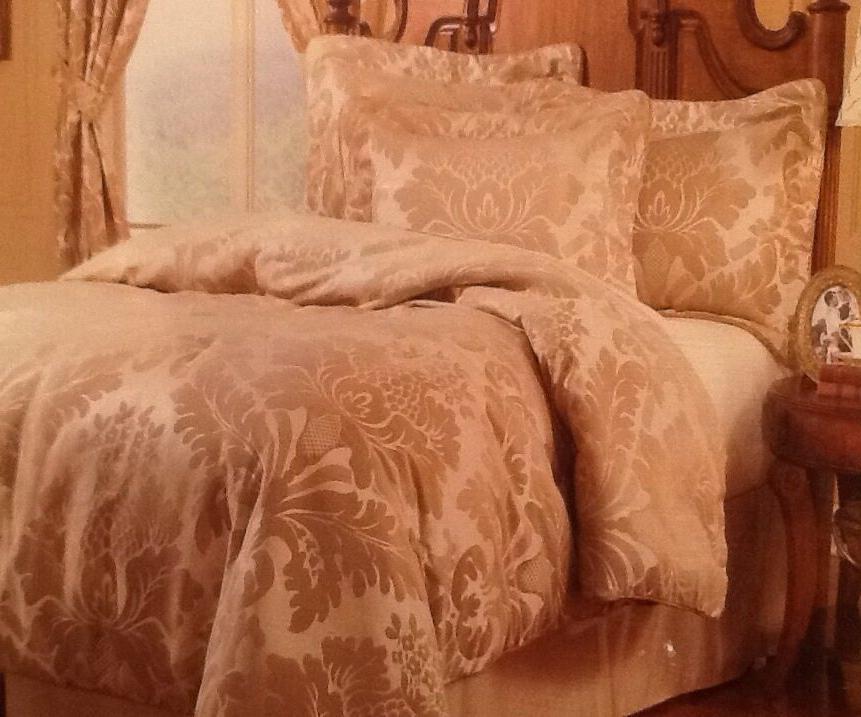 luxury fancy lawson 4 piece comforter set