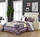Chic Home Marion 4 Piece 100% Cotton Quilt Cover Set Reversi
