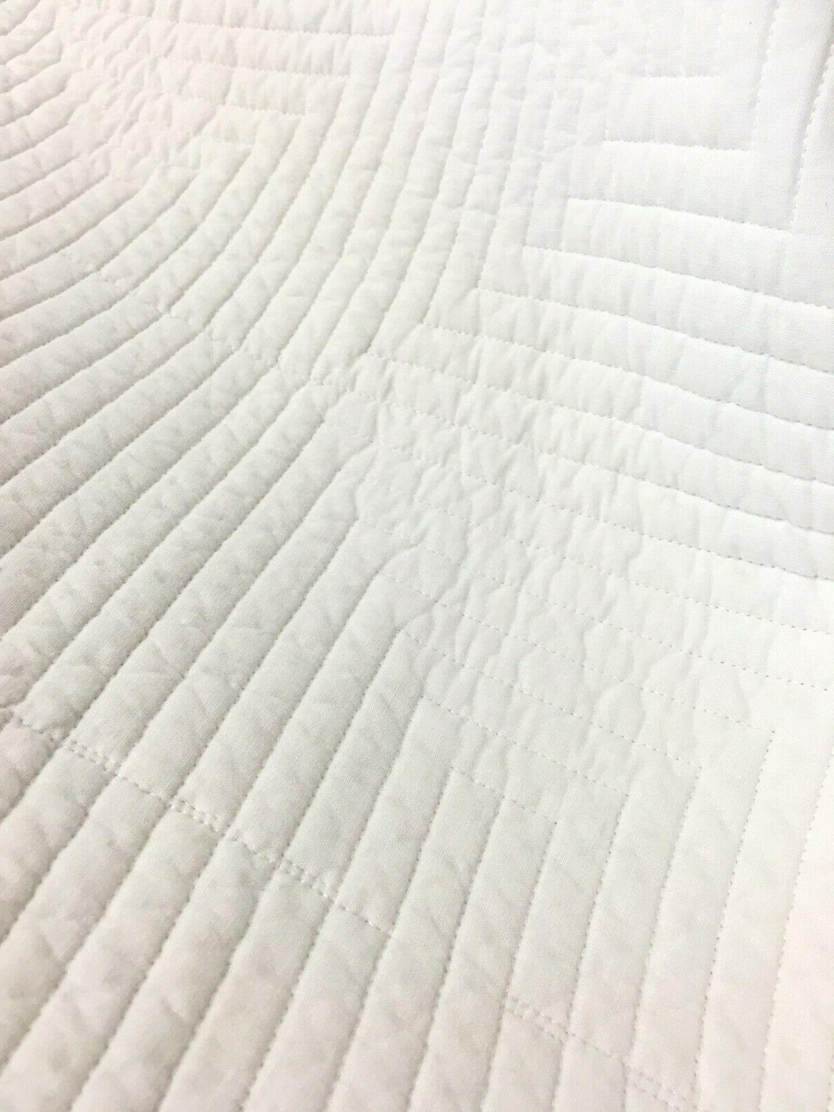 Maze Reversible Quilt Set, Coverlet