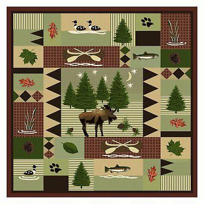 Greenland Home Moose Lodge 3 Quilt