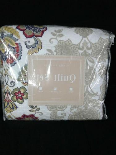 moraga cotton 3 piece quilt set full