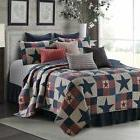 Mountain Cabin GRAY Quilt Set w/ Shams  F/Q or King by Virah
