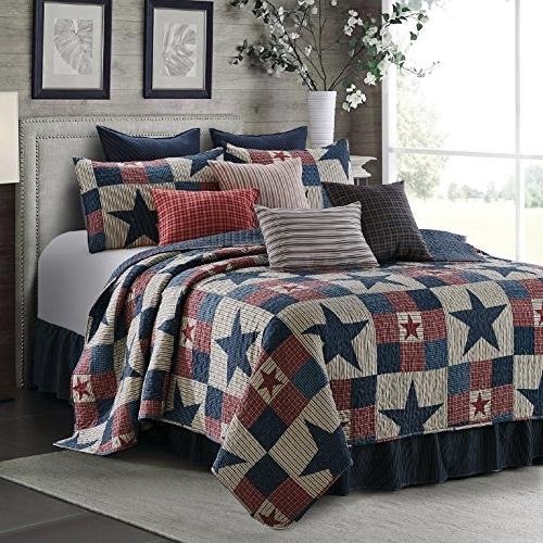 mountain cabin stars rustic quilt