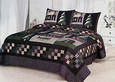 mountain trip king quilt set