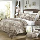 Chic Home Napoli Reversible Twin Quilt Set, Beige