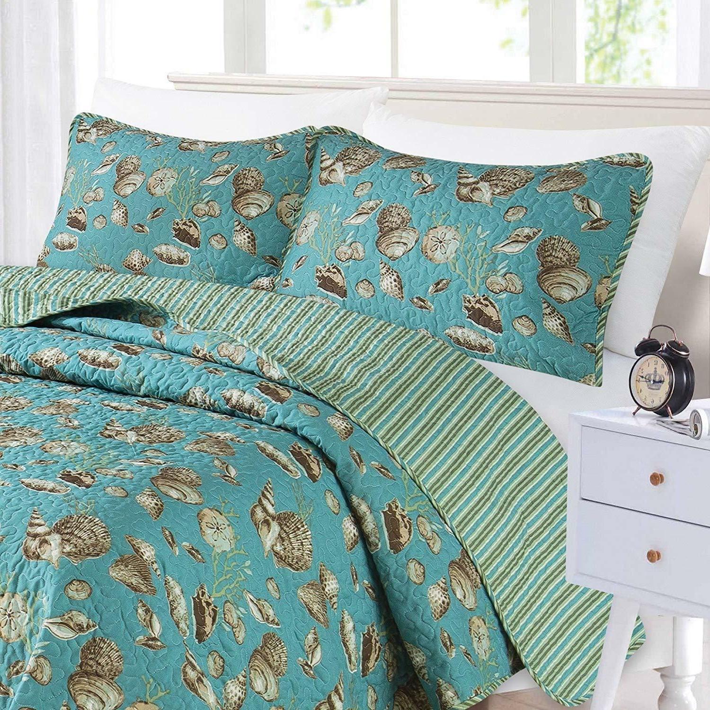 nautical quilt set full queen size bedding