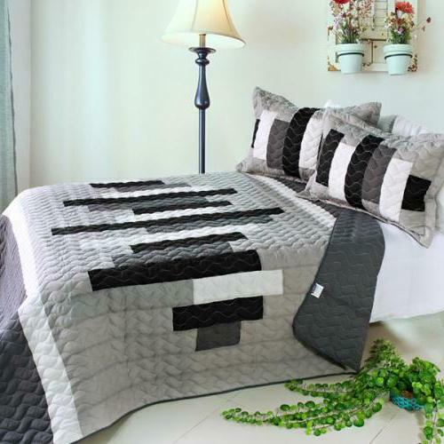 neat style life 3 pc vermicelli quilted
