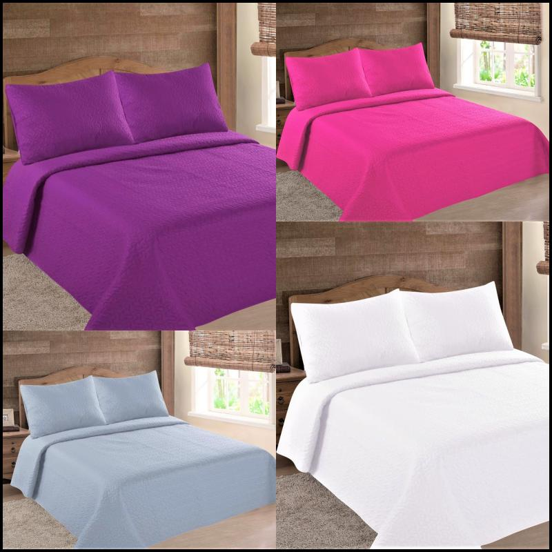 nena bed bedspread quilt coverlets set embossed