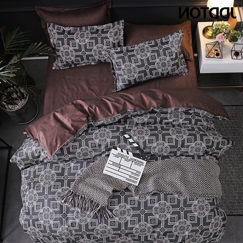 JDDTON Double Bed Concise Style Quilt Bed