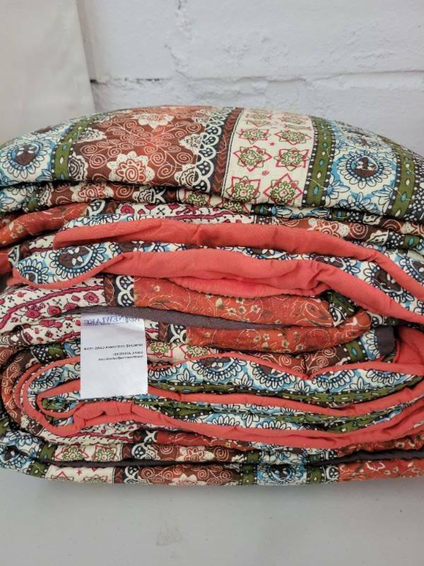 NEW~NewLake 3 Set King Bed~100% Cotton~Lightweight
