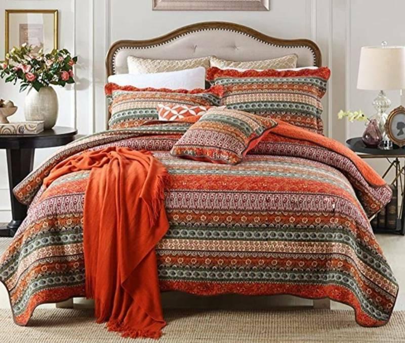 new classical bedspread quilt 3 pc set
