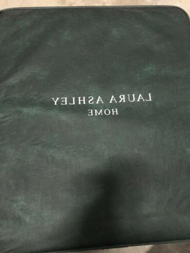 NEW Laura Duc Reversible Quilt 2 Pillow Shams Set, King