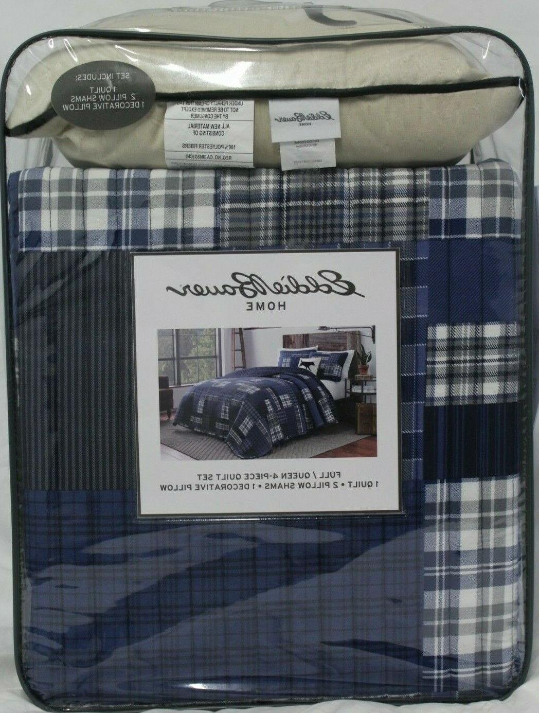 new home 4 piece quilt set eastmont