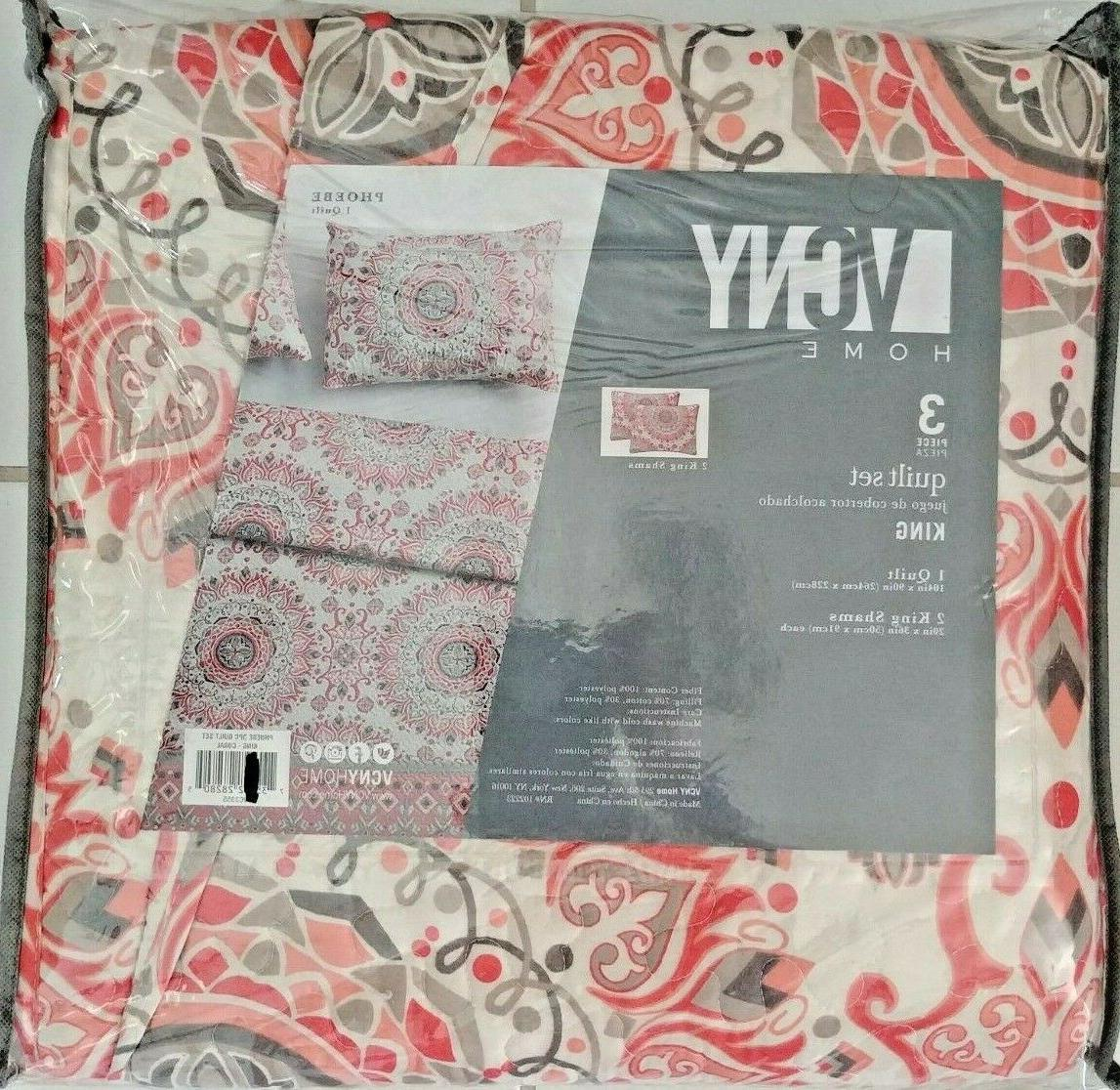 new in package 3 piece quilt set
