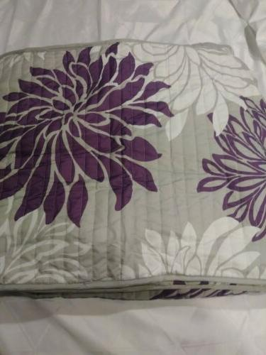 New Comfort Spaces Quilt Mini Foral