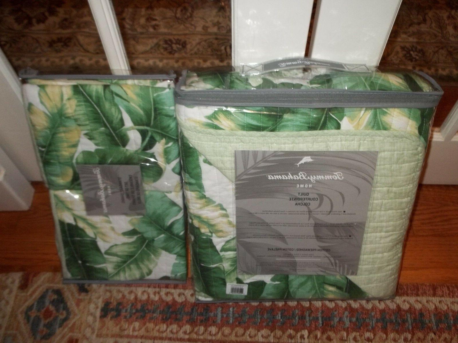 NIP Tommy Botanical Tropical & Shams Set