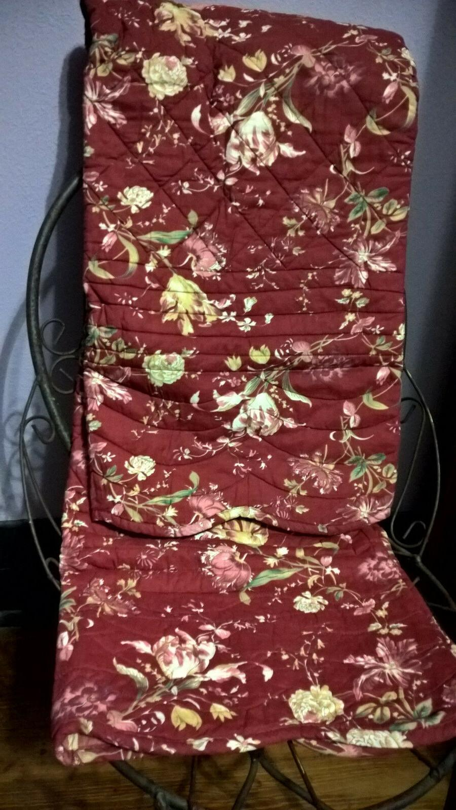 NWT American Hometex Quilt Throw & Tote - Embroidered w/ gol