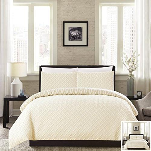 ora heavy embossed embroidered quilted