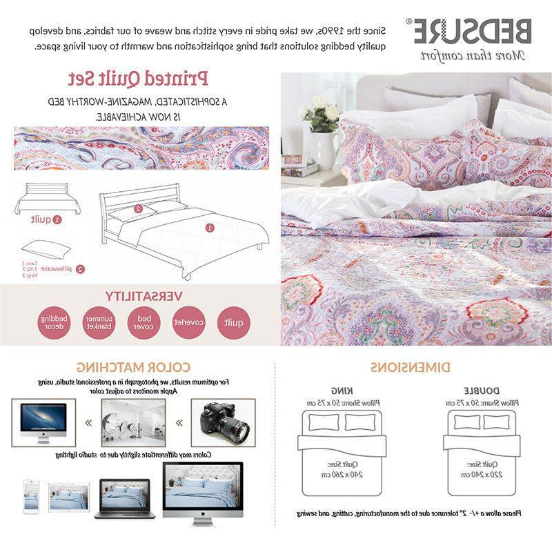 Bedsure Microfiber Set Crimson