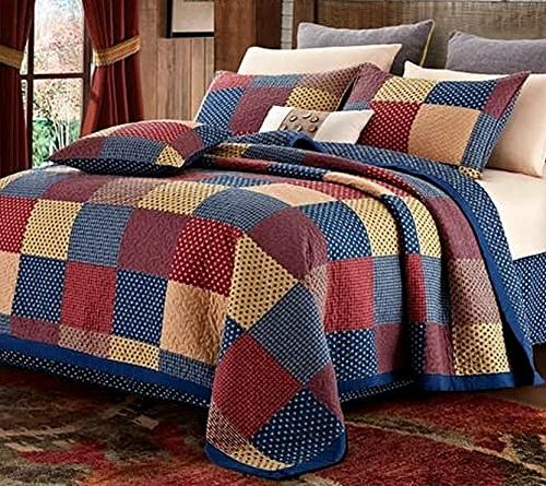patriotic patch charm king quilt