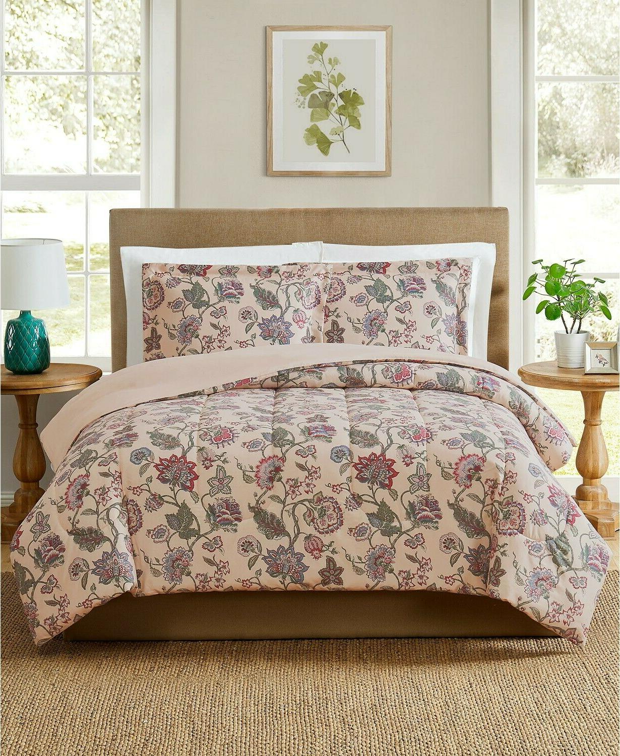 pem america 3 pc full queen comforter
